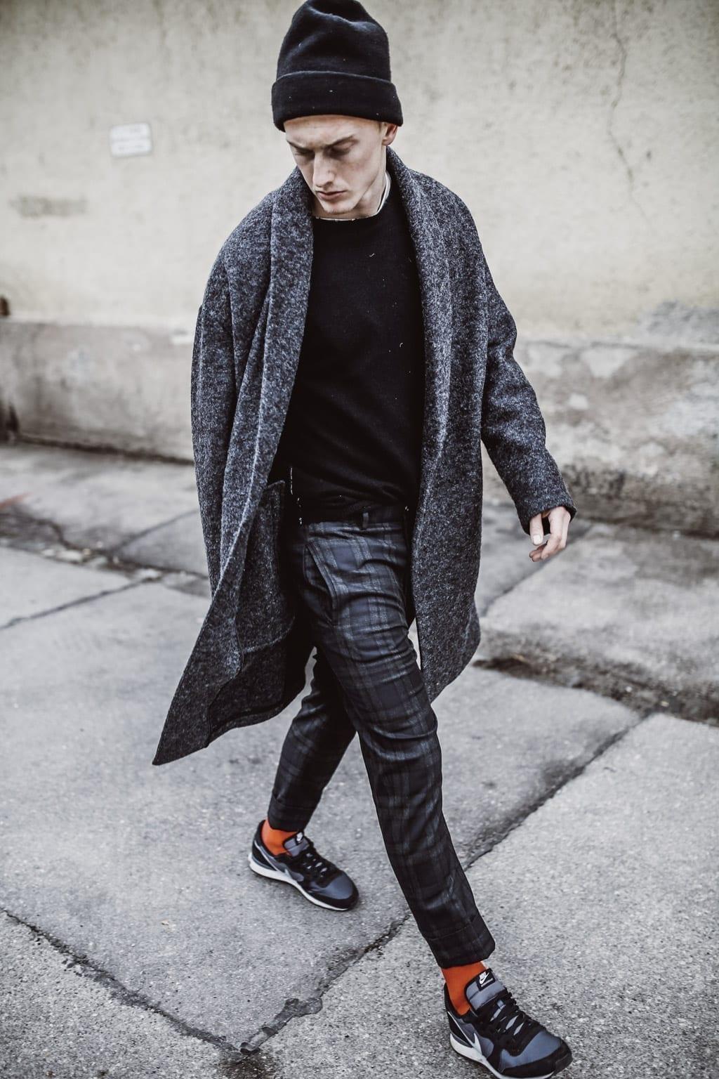 Georg Teigl mit coolem Outfit